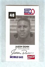 JASON DUNN 1996 SENIOR BOWL EASTERN KENTUCKY COLONELS ROOKIE EAGLES KC CHIEFS