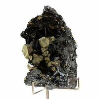 Hematite + Pyrite. 732.0 ct. Elba Island, Tuscany, Italie.