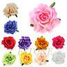 Big Rose Flower Brooch Hair Pins Clips Slides Grip Wedding Bridal Hair Accessory
