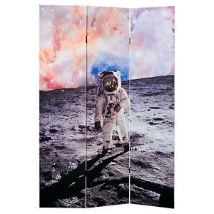 Space Man Canvas Room Divider