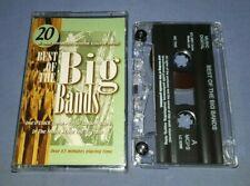V/A BEST OF THE BIG BANDS cassette tape album