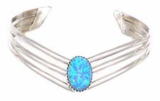 Armband Bangle Indian Jewelery 925 Silver Opal Handmade Navajo