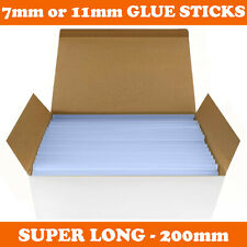 More details for hot melt glue gun sticks 7mm / 11mm x 200mm long for craft adhesive clear mini