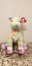 Ty Opal the Classic Rainbow Horse Plush 2003  Retired, Rare and Hard To Find!