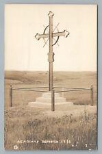 Acadian Deportation Cross RPPC Nova Scotia—Rare Antique Photo—Cajun Interest 10s