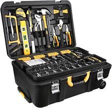 DEKOPRO Piece Set General Household Hand Tool Kit with Plastic Toolbox Storage