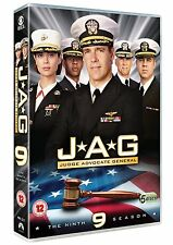 Jag - Season 9 (5 Discs)[DVD] David James Elliott, Chuck Brand New and Sealed