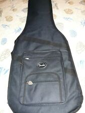 Black Fender Electric Bass Guitar Padded Soft Rugged Cover Travel Gig Bag