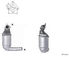 Catalizzatore Nuovo per Lancia Ypsilon 1248 cc 66 / 77 kW 2006 / 2011