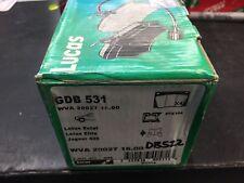 Lotus Excel Lucas brakes 1986-1989 TRW Front Disc Brake Pads GDB531 DB522
