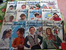 ✅ 1954 ANNATA COMPLETA - La Donna, la Casa, il Bambino-ricamo moda e biancheria