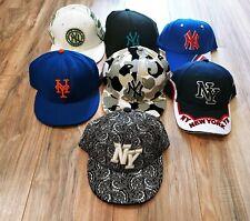 Lot of 7 NY New York Yankees Baseball Hats Caps