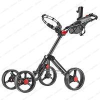 CaddyTek Superlite Explorer 4 Wheel Golf Push Cart -Dark Grey **NEW**