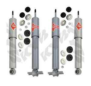 KYB 4 High Performance Upgrade SHOCKS CHEVROLET CORVETTE 1988 - 88