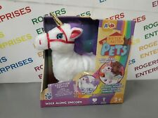 Addo Pitter Patter Pets - WALK ALONG UNICORN - NEW Box Creased