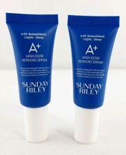 2 X Sunday Riley A+ High Dose Retinoid Serum Signs Aging 0.17 oz Retinol