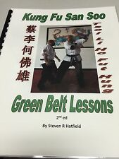 Special 2 Days Only  San Soo Kung Fu Green Belt Book - Over 230 Illustrations!