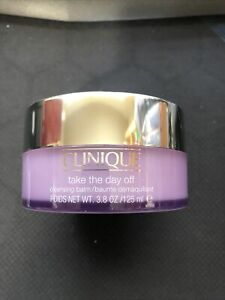 New Clinique Take the Day Off Cleansing Balm Full Size 3.8 oz./125 ml Full Size