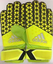 Adidas Ace Training Goalie Gloves Goal Keeper Dynamic Cut Football Yellow Size 9