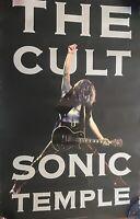 The Cult Sonic Temple Rare Promo Poster 1989
