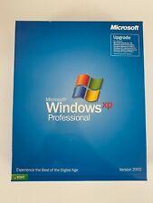 Microsoft Windows XP Professional Upgrade 2002 Big Box
