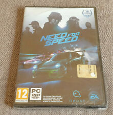 PC Game Need for Speed Brand New Sealed Italian Version Plays English Damaged