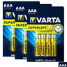 12 x Varta AAA batteries SuperLife Zinc Carbon 1.5V 2003 MICRO LR3 R03 Pack of 4