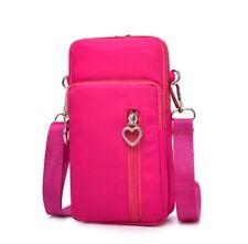 Mini Cross-Body Cell Phone Holder Bag Shoulder Strap Wallet Pouch Bag Purse US