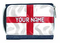 con nome regalo per un bambino Inghilterra St George/'s BANDIERA PERSONALIZZATA KIDS T-SHIRT
