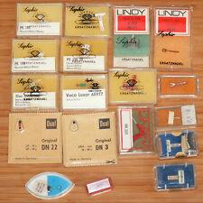 Konvolut 18 Stück verschiedene Vintage Abtastnadel  Plattenspielernadel