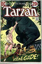 Tarzan #216-1973 vf- 10th DC Issue Joe Kubert / ER Burroughs