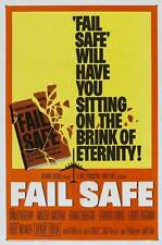 FAIL-SAFE Movie POSTER 27x40