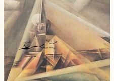 Lyonel Feininger Fischerflotte in Dünung 1912 Kunstkarte
