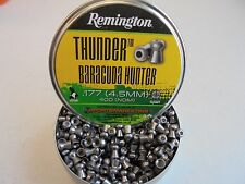 remington thunder baracuda hunter 4.5mm / .177 x 50 pellets .sample pack.