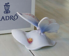 """Vintage Lladro Butterfly """"Morning Calm"""" 6589 w/Box Retired"""