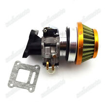 Performance Carburetor Air Filter Stack Kit 47cc 49cc Pocket Bike Mini Moto ATV