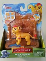 Disney Jr LION GUARD Kion's Toppling Rock Wall  New in package