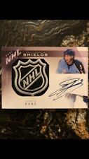 2009-10 UD The Cup Evander Kane ROOKIE RC DUAL SHIELDS Autograph 1/1 Sharks Rare