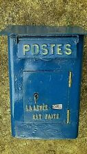 boite lettres poste PTT briekasten facteur postier industriel delachanal box
