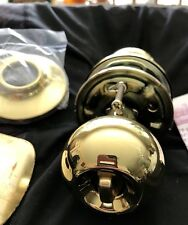 Yale 200C3 Cirrus Knob Privacy, Polished Brass