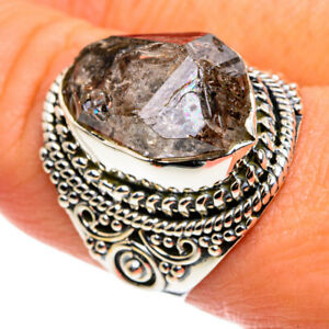 Herkimer Diamond 925 Sterling Silver Ring Size 8.75 Ana Co Jewelry R79530F