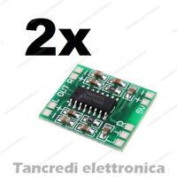 2pz PAM8403 Modulo Amplificatore digitale Audio stereo 2 canali Classe D 3W+3W