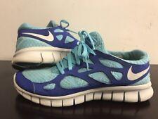 Nike Free Run 2 Women Running Shoes Size 8.5US/ 6UK/40EUR. Blue/ Aqua
