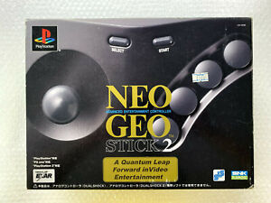 """Neo Geo Stick 2 """"Good Condition"""" PS2 Sony Playstation2 Japan"""