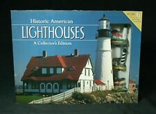 Barnes and Noble Historic American Lighthouses 6 Miniature Lighthouses With Book