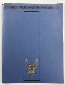 The Harley-Davidson Story 1989 Soft Cover Booklet 76 Pages, Willie G Foreword