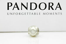 790398MPW Authentic PANDORA Mother of Pearl Sterling Silver Charm Suit Bracelet