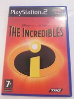 Disney Pixar - The Incredibles Game (Sony PlayStation 2 - PS2 - Kids Game