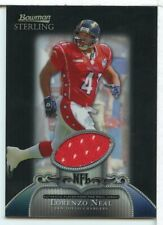 Lorenzo Neal 2006 Bowman Sterling Jersey Card Black Refractor /25 Pro Bowl DM31