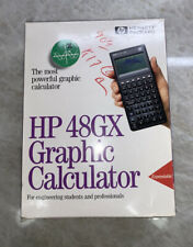 Mint Hewlett Packard 48Gx. 128K Ram Calculator - In Box - Never Used